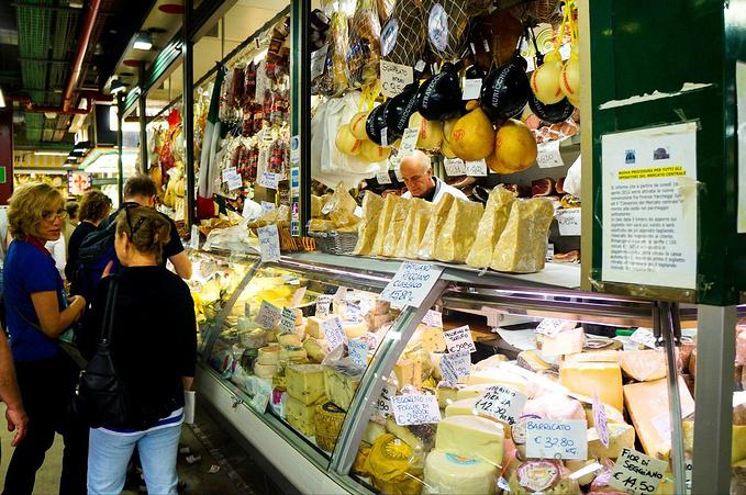 佛罗伦萨中央皮具市场图片
