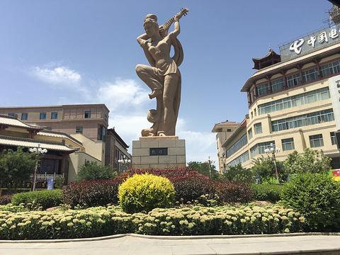 敦煌商业步行街旅游景点攻略图
