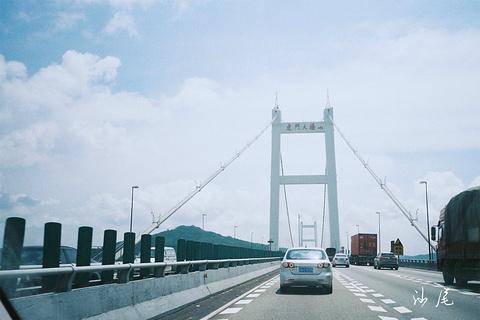 虎门大桥的图片
