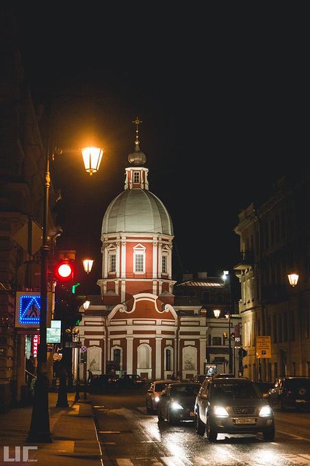 涅瓦大街图片