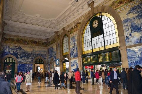 圣本托火车站旅游景点攻略图