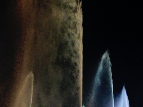 甘德尔河音乐喷泉旅游景点图片