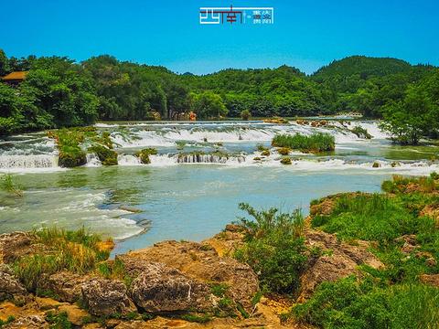 陡坡塘瀑布旅游景点图片