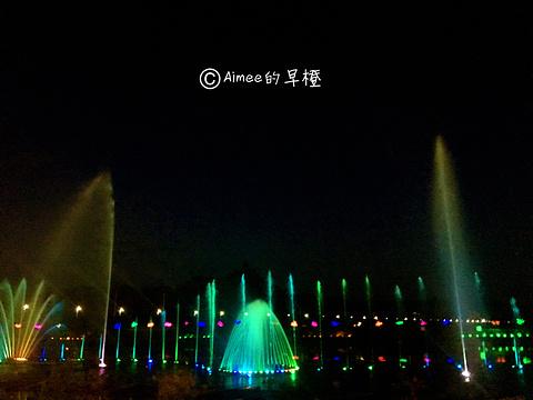 甘德尔河音乐喷泉旅游景点攻略图