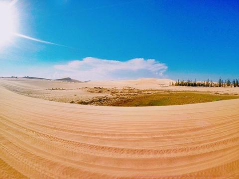白沙丘旅游景点攻略图