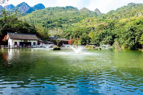 天星湖(高老庄)旅游景点攻略图