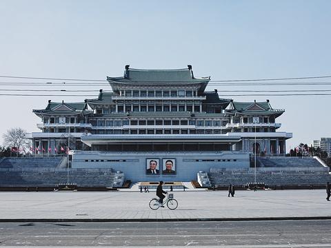金日成广场旅游景点图片