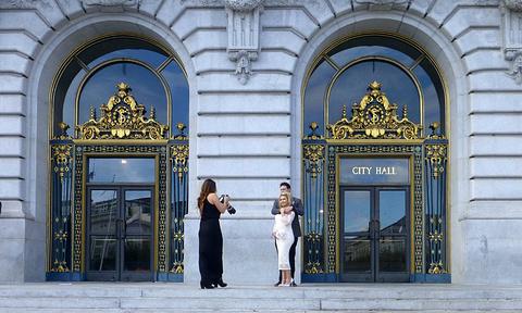旧金山市政厅旅游景点攻略图