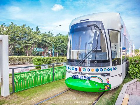广州有轨电车旅游景点图片