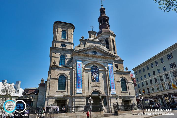 """""""在天主教教堂中具有非常崇高的地位,原建筑建于1647年,距今已经有超过350年历史,但历经两次..._魁北克圣母大教堂""""的评论图片"""