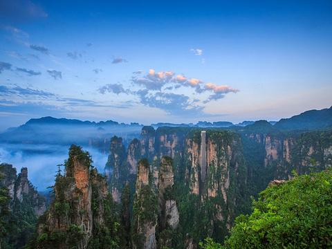 百龙天梯旅游景点图片