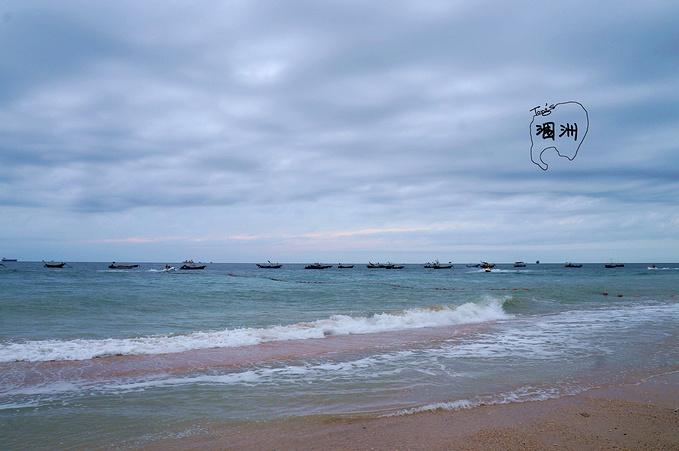 石螺口海滩图片