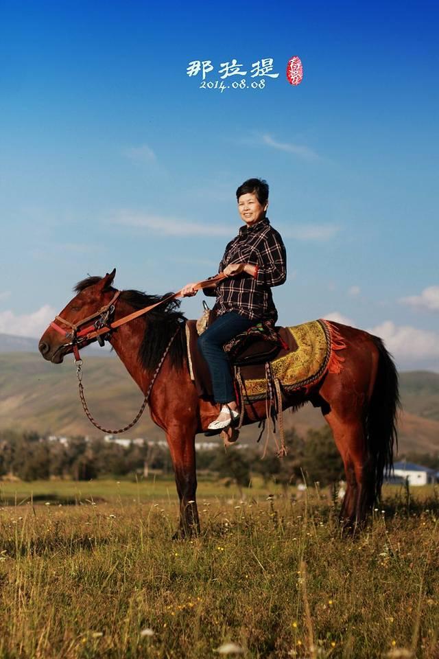 牵走我日夜的梦想,带着妈妈去新疆
