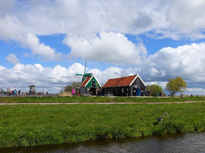 桑斯安斯风车村图片