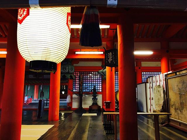 """""""严岛神社,是一座建在海上的神社,它建于公..._严岛神社""""的评论图片"""