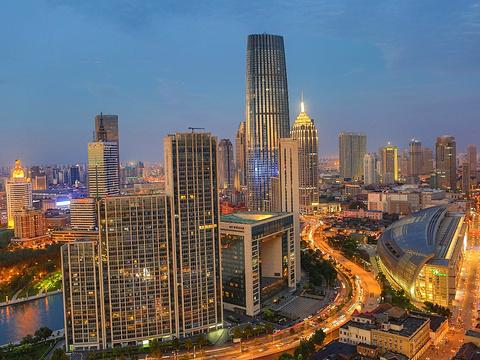 天津海河文化广场旅游景点图片