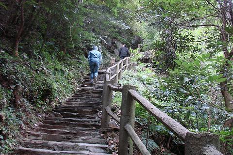 大泊水瀑布风景区旅游景点攻略图