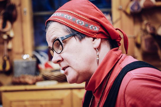 拜访传统艺术家Irene夫妻图片