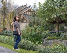 带着家人去旅行:青城山六善,人均1280元含高铁、早晚餐、住和下午茶