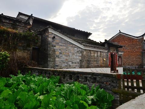 渼陂古村旅游景点图片