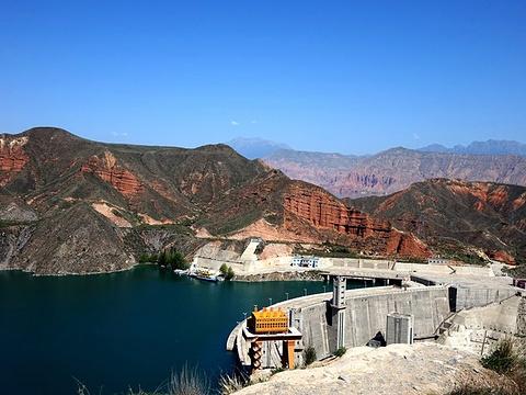 李家峡水电站旅游景点图片