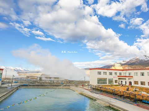 蓝色天国羊八井地热旅游区旅游景点图片