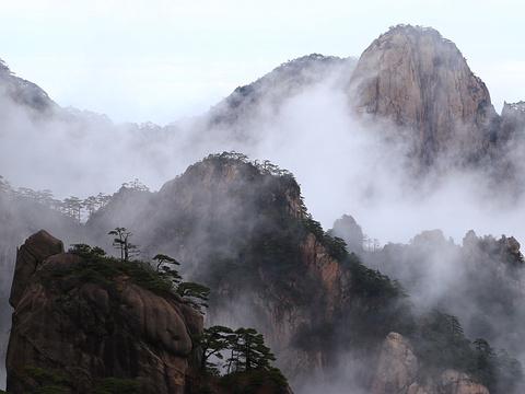 黄山风景区旅游景点图片