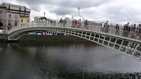 半便士桥旅游景点攻略图