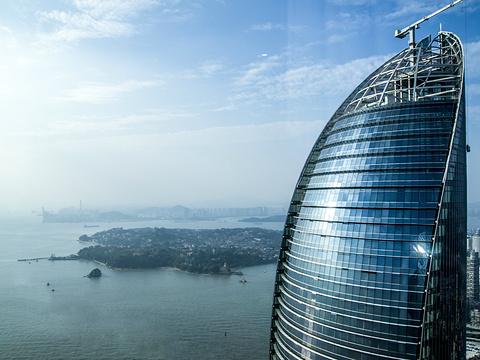 厦门双子塔旅游景点图片