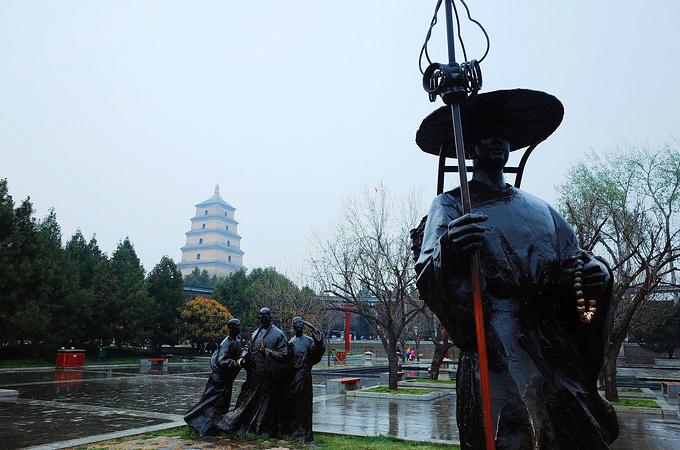 唐大慈恩寺遗址公园图片