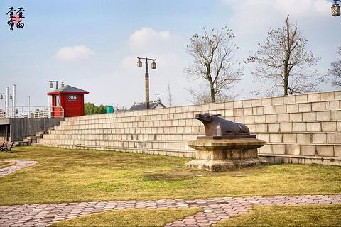 观潮胜地公园旅游景点攻略图