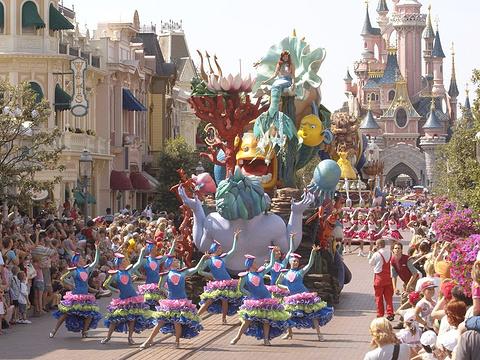 巴黎迪士尼乐园旅游景点图片