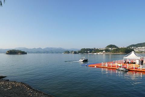 千岛湖中心湖区的图片