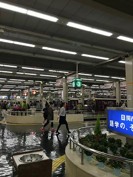 梅田商圈旅游景点攻略图