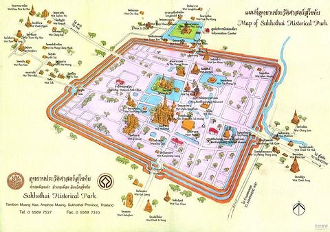 大城历史公园旅游景点攻略图