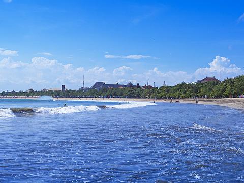 库塔海滩旅游景点图片