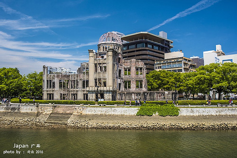 原子弹爆炸圆顶屋