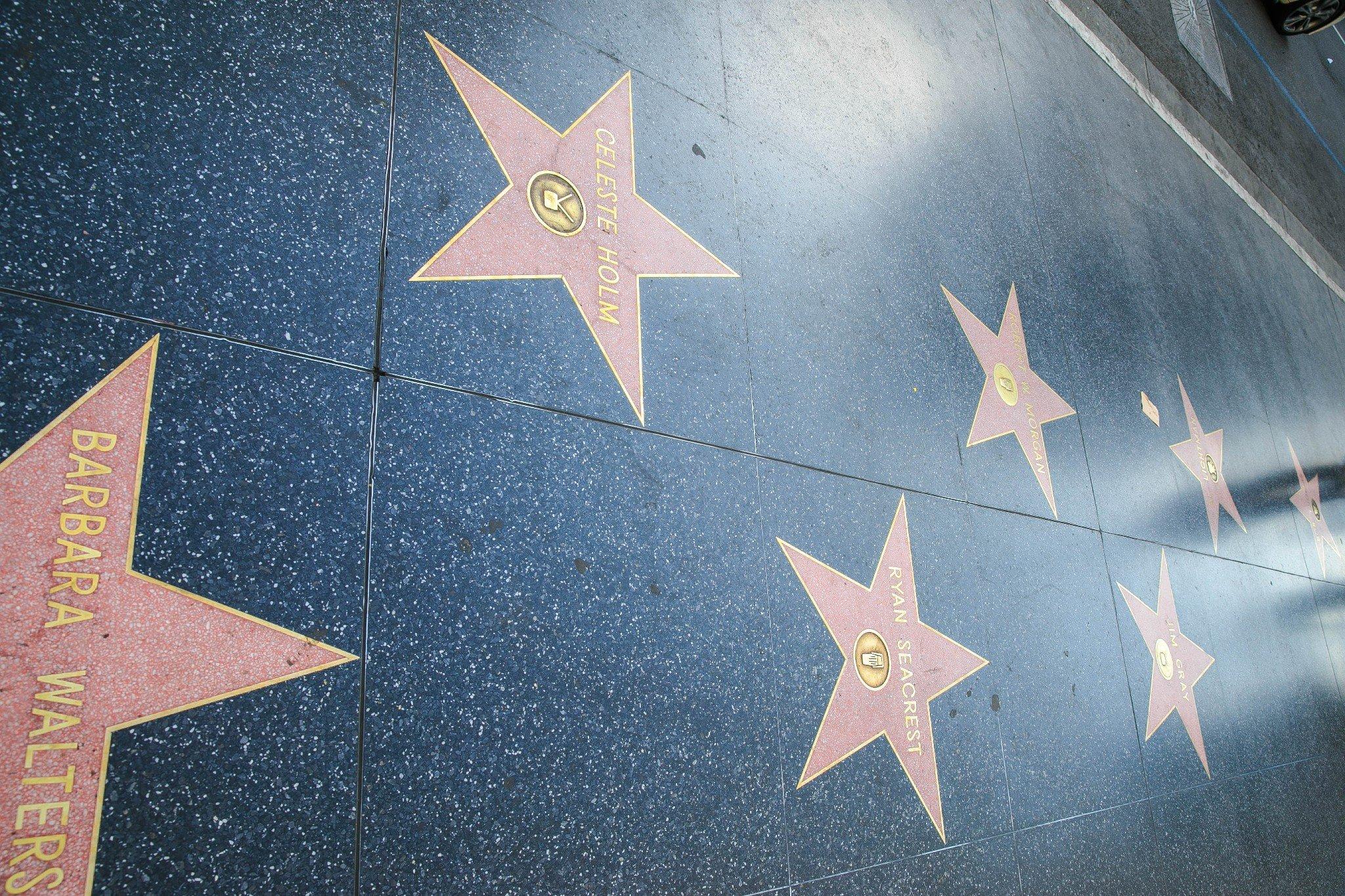 好莱坞星光大道