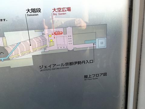 JR京都伊势丹旅游景点攻略图