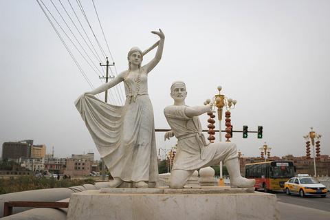 喀什东湖公园旅游景点攻略图