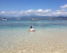 日惹,巴厘岛,吉利T岛,马六甲,吉隆坡全家潜水游记