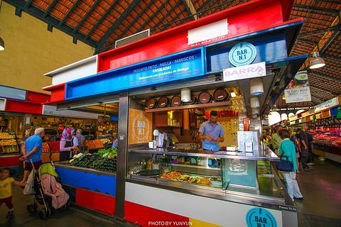 Mercado Central de Atarazanas旅游景点攻略图