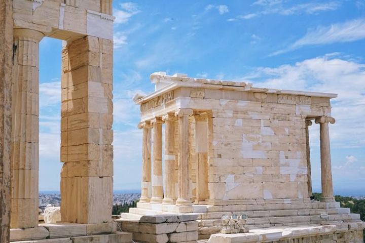2018雅典娜胜利神殿是雅典卫城里的一所神殿