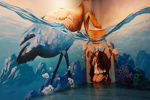 Trickeye特丽爱3D立体美术馆(香港店)旅游景点攻略图