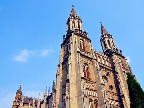 洪家楼天主教堂旅游景点图片
