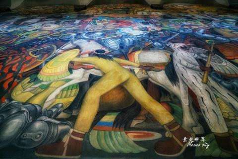 墨西哥城国家宫殿旅游景点攻略图