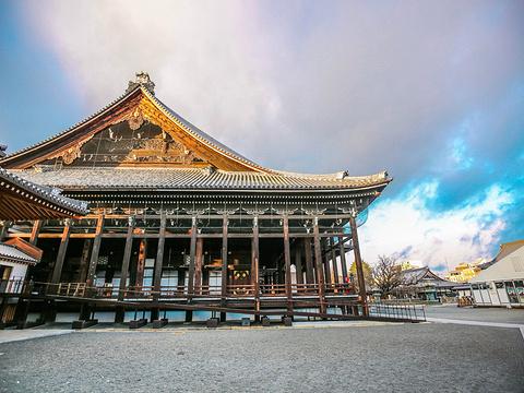 西本愿寺旅游景点图片
