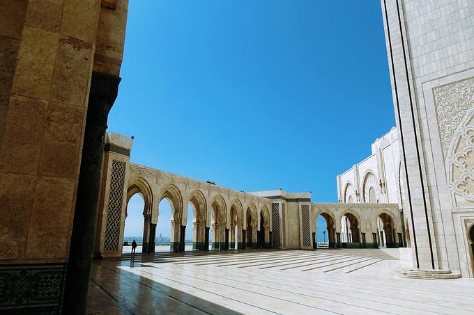 哈桑二世清真寺图片