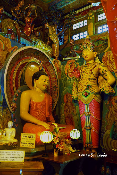 冈嘎拉马寺庙图片