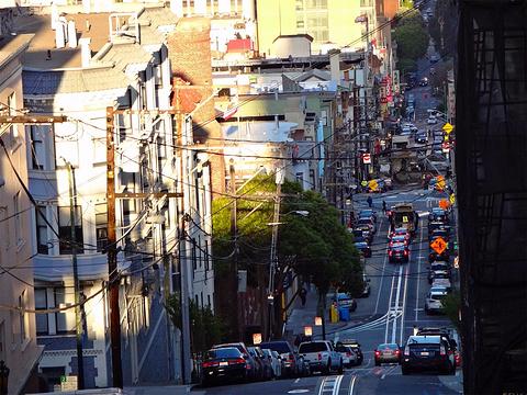 旧金山铛铛车旅游景点图片